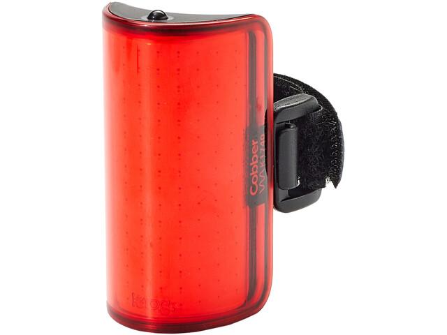 Knog Cobber Mid Rear Light, rojo/negro